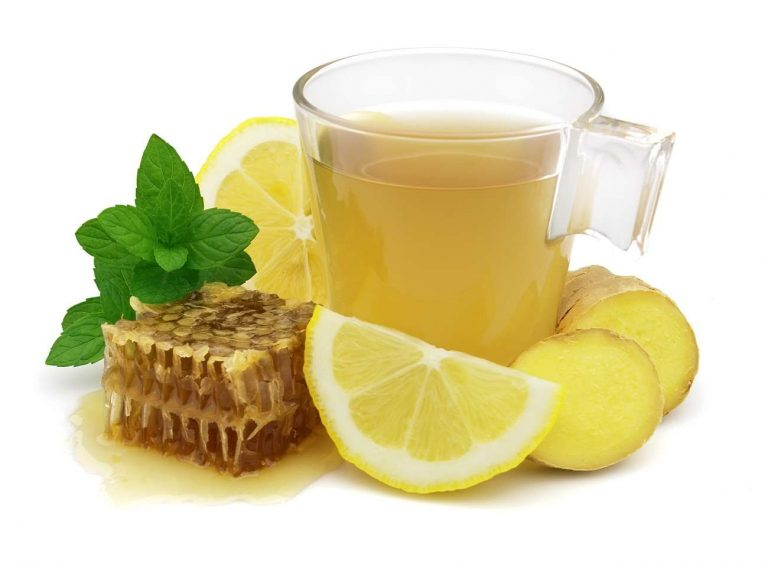 lemon and honey tea
